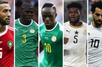 5 نجوم مرشحين لجائزة أفضل لاعب إفريقي من BBC .. تعرف عليهم - المواطن