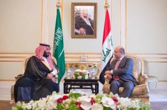 ولي العهد يبحث مع الرئيس العراقي فرص تطوير العلاقات الثنائية وتطورات الأوضاع بالمنطقة - المواطن