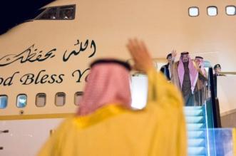 بالصور .. الملك يغادر الجوف متوجهاً إلى منطقة الحدود الشمالية - المواطن