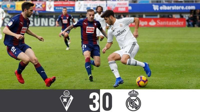 ريال مدريد يسقط بالثلاثية