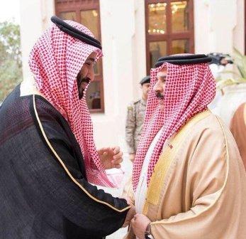 البحرين تنور بمحمد بن سلمان.. مرحباً بحفيد الأئمة والملوك