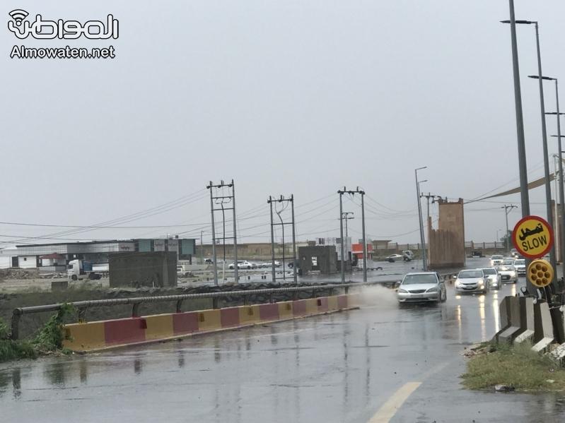 طقس الخميس .. أمطار رعدية ورياح على 13 منطقة