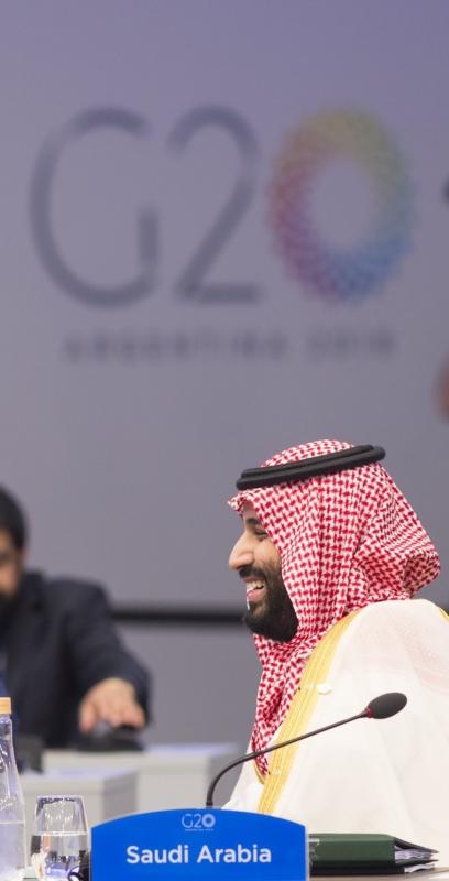اجتماع ودي بين ولي العهد وترامب على هامش قمة مجموعة العشرين