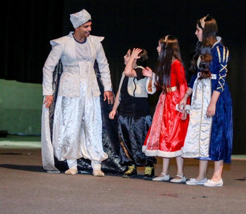 ألف ليلة ونص تلتقي الأطفال وأسرهم في مركز الملك فهد لمدة يومين