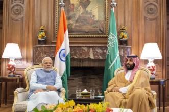 """ولي العهد يستقبل رئيس وزراء الهند.. ويعلن قبول دعوته للانضمام لمبادرة """"الاتحاد الدولي للطاقة الشمسية"""" - المواطن"""