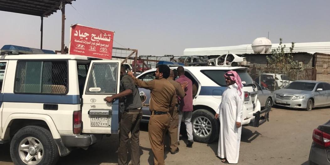 صور.. عمل الرياض يُحرر 111 مخالفة وينذر 191 منشأة ويضبط 12 مخالفاً