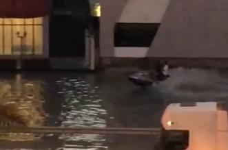 فيديو.. الأمطار تحول شوارع جدة لبحيرات - المواطن