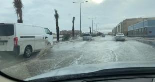 شاهد بالفيديو والصور.. الرياض ومحافظاتها تحت زخات أمطار غدق
