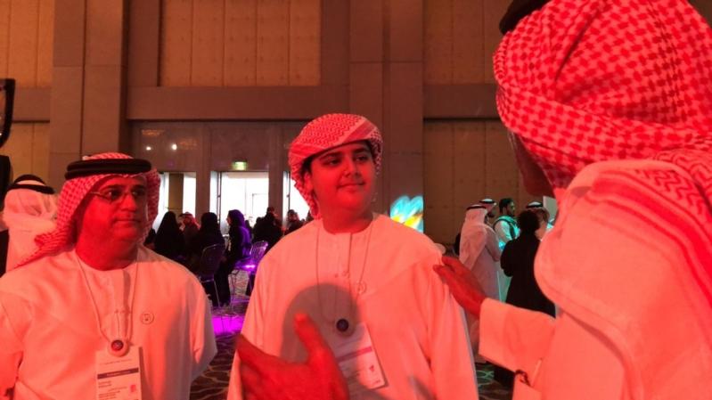 """فيديو.. أصغر متحدث في مسك العالمي ووالده لـ""""المواطن"""" : محمد بن سلمان ملهم"""