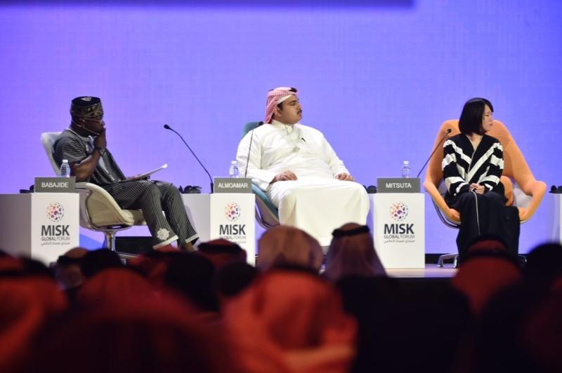 صور.. منتدى مسك العالمي يستلهم مهارات المستقبل من الشباب - المواطن