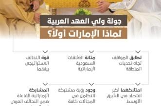 6 أسباب.. لماذا الإمارات أولًَا في جولة ولي العهد ؟ - المواطن