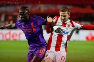 النجم الأحمر ضد ليفربول