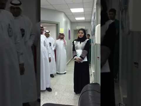 فيديو .. هذا ما حملته سلوى العمران لموظفي صحة جازان: رسالة وهدايا