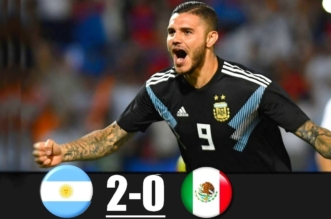 الأرجنتين ضد المكسيك