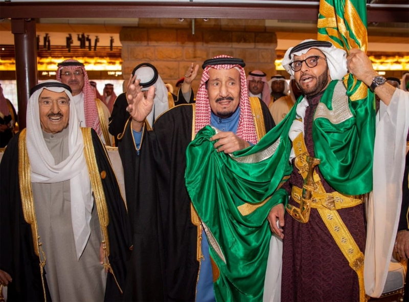 شاهد بالصور .. الملك سلمان يرعى حفل افتتاح مشروع تطوير #حي_الطريف - المواطن