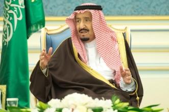 الملك يستقبل الأمراء والمفتي وجمعاً من المواطنين - المواطن