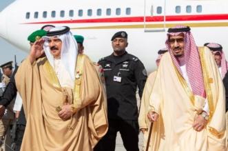 لقطات من استقبال الملك سلمان لـ ملك البحرين للمشاركة في قمة مجلس التعاون 2018 - المواطن