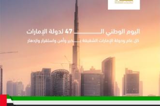 تصميم موحد لكافة قطاعات الداخلية لتهنئة الإمارات بيومها الوطني 47 - المواطن