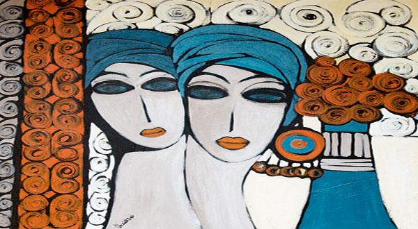 باية محيى الدين .. معلومات عن الجزائرية التي أبهرت #فرنسا بفنها التشكيلي - المواطن