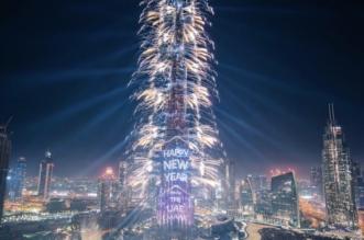 إضاءته عانقت السماء.. من برج خليفة إلى العالم: كل عام وأنتم بألف خير - المواطن