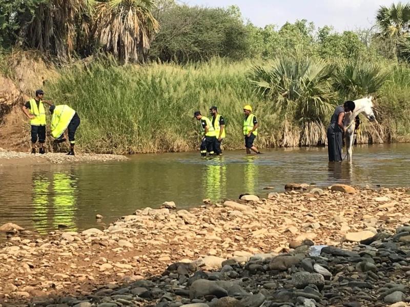 لليوم الـ6.. تواصل عمليات البحث عن مفقود سيل وادي قرى - المواطن