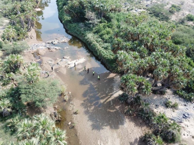 لليوم الـ6.. تواصل عمليات البحث عن مفقود سيل وادي قرى