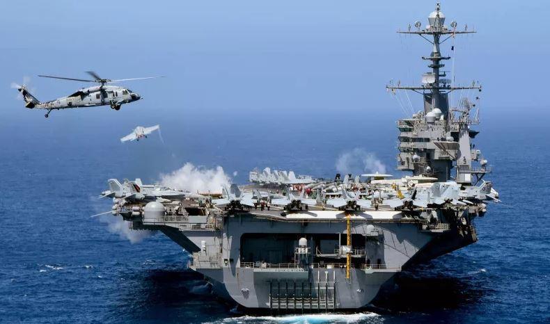 حاملة طائرات نووية أمريكية في طريقها إلى الخليج العربي