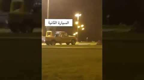 فيديو.. شخصان يعبثان بسيارتهما داخل حديقة الأمير محمد بن ناصر ببلغازي