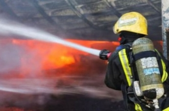 حريق يقطع التيار الكهربائي بعدة أحياء في شرائع مكة - المواطن
