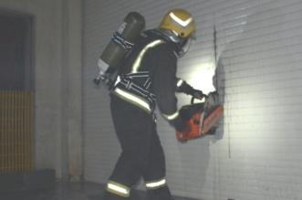 #جدة .. حريق في مصنع للتغليف والتذهيب بالصناعية الأولى - المواطن