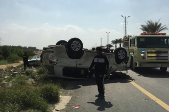 بينهم مواطنة.. 5 وفيات و6 إصابات حصيلة حوادث طرق #جازان - المواطن