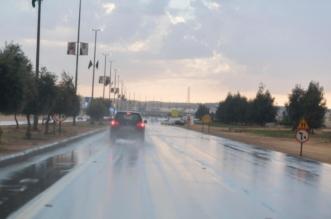 الأمطار تزف الطلاب والطالبات إلى #اختبارات الفصل الدراسي الأول - المواطن