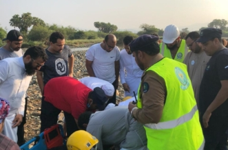 وفاة شخص وفقدان آخر بعد انجراف مركبة في سيول حقو بيش - المواطن