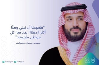 الحمادي: برنامج سند محمد بن سلمان يتلمس احتياجات فئات المجتمع المختلفة - المواطن