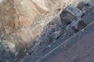أمن الطرق: صخور متساقطة تتربص بسالكي طريق المدينة - تبوك - المواطن