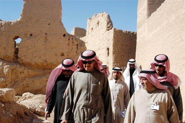 اهتمام مباشر من الملك سلمان .. مشروع تطوير الدرعية يحقق الريادة الوطنية