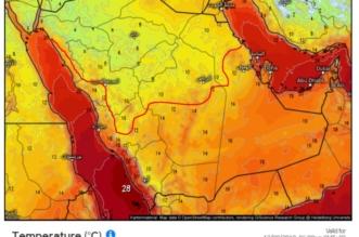 المسند: كتلة هوائية باردة تجثم على معظم مناطق المملكة معلنة بدء المربعانية - المواطن