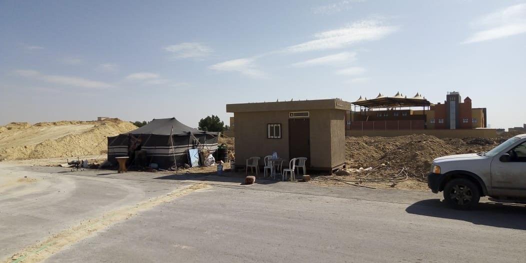 فصل الخدمات عن 24 موقعًا مخالفًا شمال الرياض