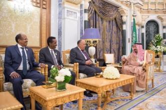 في قصر اليمامة.. الملك سلمان يستقبل وزراء خارجية 4 دول - المواطن