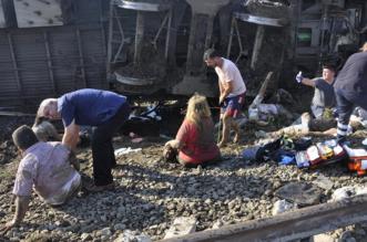 #أنقرة .. مصرع 4 أشخاص وإصابة 43 آخرين في حادث قطار - المواطن