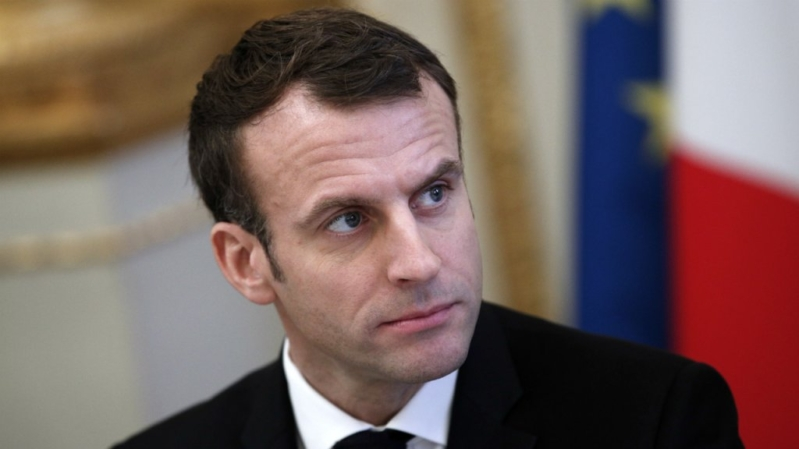 ماكرون يُظهر العين الحمراء لإيران