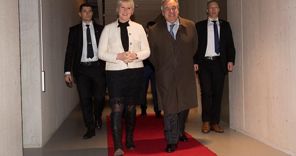 غوتيريش : مشاورات السويد نجحت في إنقاذ الحديدة .. وجولة جديدة في يناير