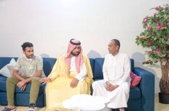نائب أمير جازان يزور المصابين حمادي وحكمي - المواطن