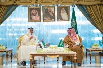 صور.. وزير الداخلية يبحث مع نظيره الإماراتي سبل تعزيز التعاون المشترك - المواطن