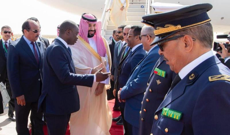 لقطات من وصول ولي العهد إلى موريتانيا في زيارته التاريخية - المواطن