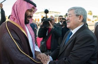 ولي العهد يبعث برقيتي شكر للرئيس الجزائري والوزير الأول: بالغ امتناني على حسن الضيافة والاستقبال - المواطن