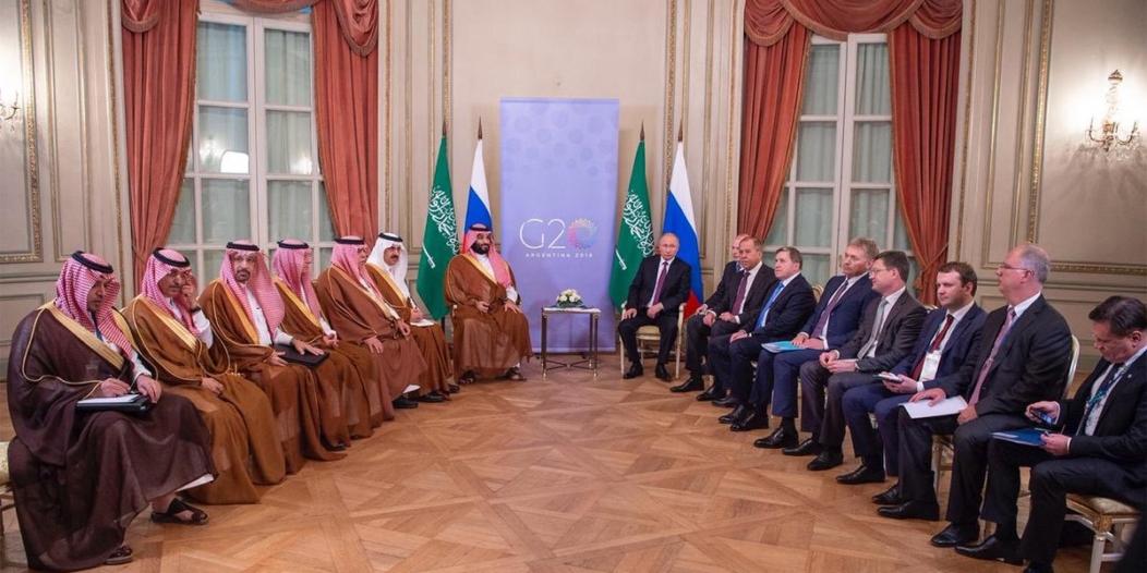 ولي العهد يلتقي بوتين على هامش قمة العشرين