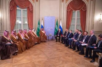ولي العهد يلتقي بوتين على هامش قمة العشرين - المواطن