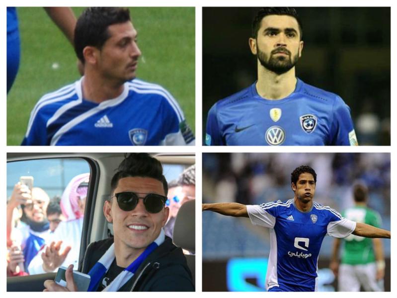بعد معاناة خربين .. لاعبون سرقوا الأضواء في #الهلال ثم اختفوا
