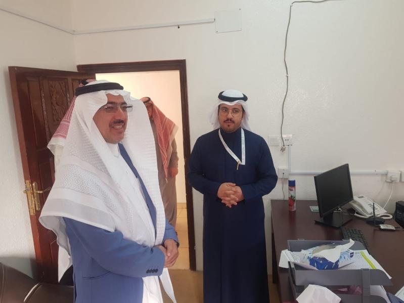 صور.. أمين عسير يفاجئ بلديتي السودة وطبب الفرعيتين بزيارة ميدانية